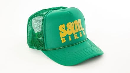 S&M Keep On Trucking Hat Kelly Green